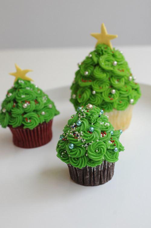 julgrans-cupcake