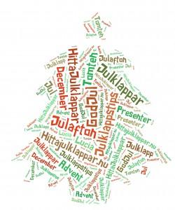 Julgran med julklappstips