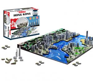 julklappstips: 4D-pussel: Hong Kong