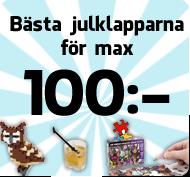 Julklappar under 100 kr