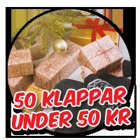 50 roliga julklappstips för under 50 kronor