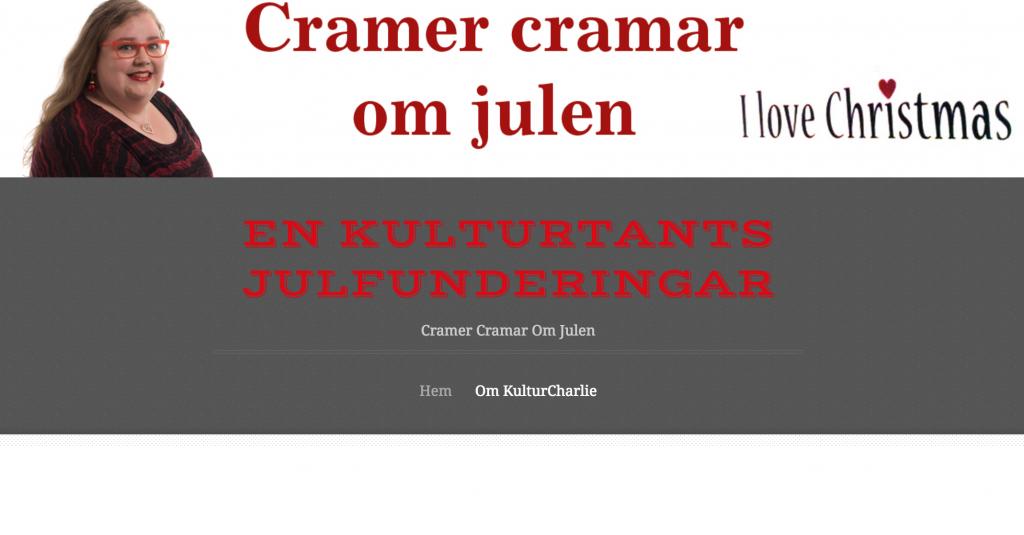 cramer-cramar-om-julen