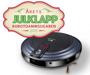 årets julklapp 2015 - robotdammsugaren