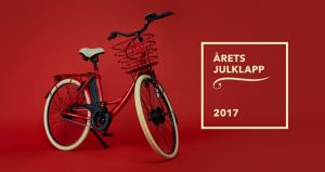 Årets julklapp 2017 - Elcykeln - Bild från HUI