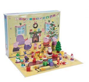 greta gris julkalender för barn