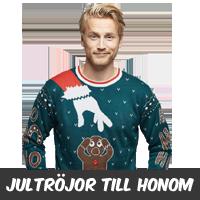 Jultröja herr - Fula & roliga jultröjor till honom