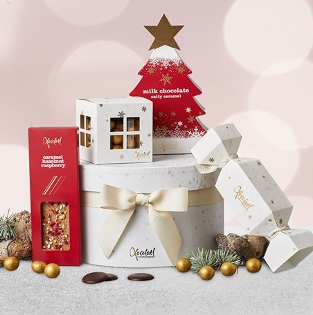 Lyxig choklad i julklapp
