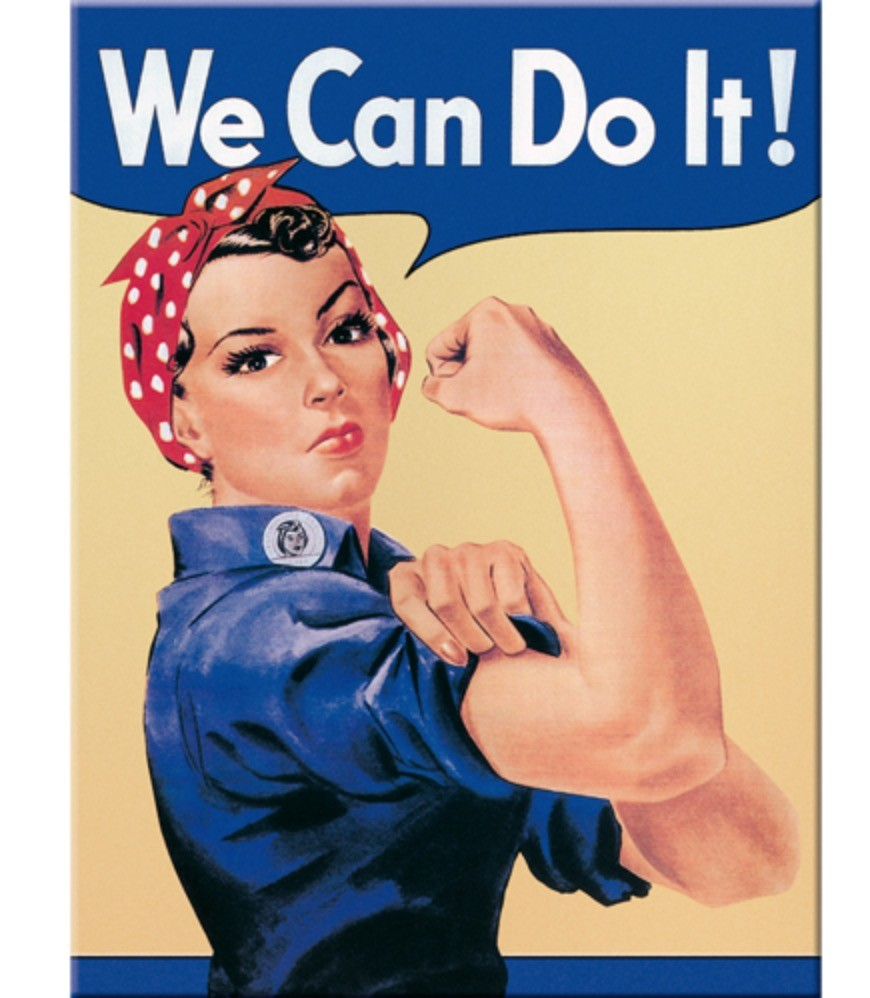 We can do it magnet