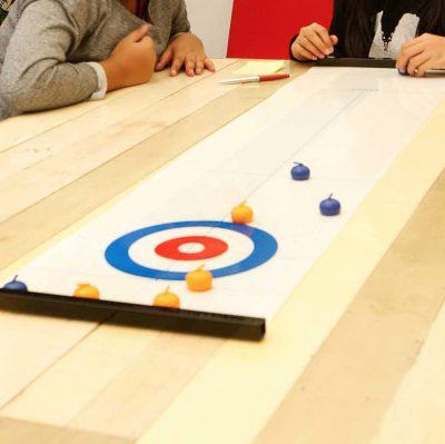 minicurling spel