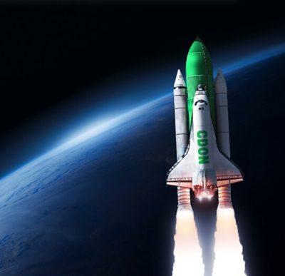 åk på rymdresa