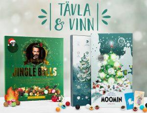 Tävla om Chili Klaus & Moomin julkalender med hittajulklappar.nu & bluebox