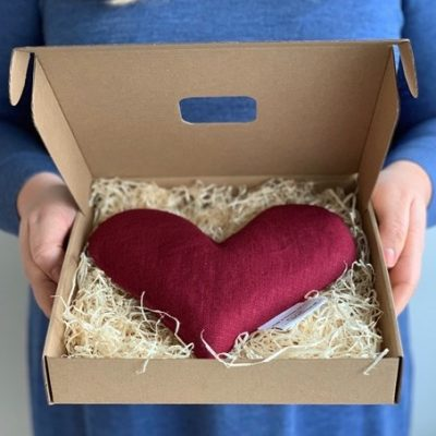 vetevärmare hjärtformad